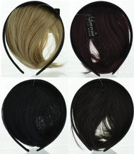 Assorted Hair Band with Front Wig (Dozen)