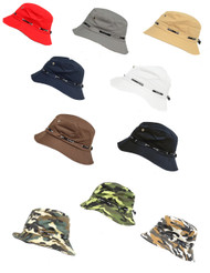 Bucket Fisherman Hat (6pcs)