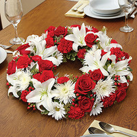 Red & White Centerpiece