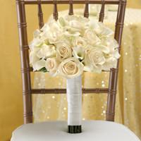 Romance Bundle - All White Bridal Bouquet