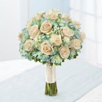 Blue Bridal Bouquet