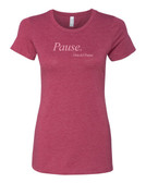 Old Times Pause Tee - Ladies