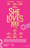 She Loves Me Poster
