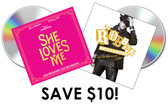 CD Combo Pack! Pre-Order She Loves Me and The Robber Bridgroom Cast Recordings