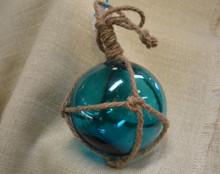 Aqua Green Glass Float