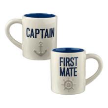 Captain & First Mate Mug Set