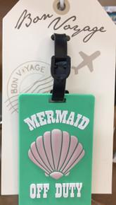 """""""Mermaid Off Duty"""" Luggage Tag"""