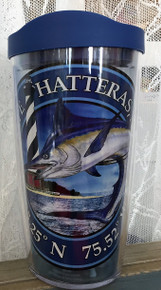 Cape Hatteras Marlin Tervis Tumbler with Lid