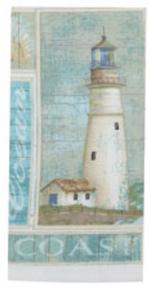 Coastal Lighthouse Terry Towel