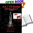 A-4 / V-2 Rocket Instruction Manual
