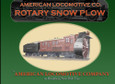 American Locomotive Co. Rotary Snowplow