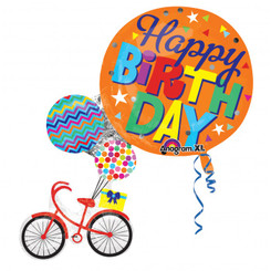 "31"" Happy Birthday Super Shape Bike"