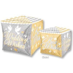 Shimmering Wedding Wishes Cubez