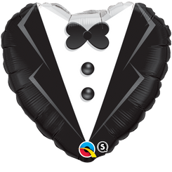 "18"" Groom Heart"