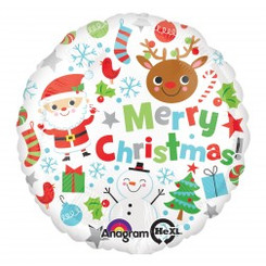 "18"" Merry Christmas Icons"