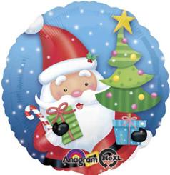 """18"""" Santa With Tree"""