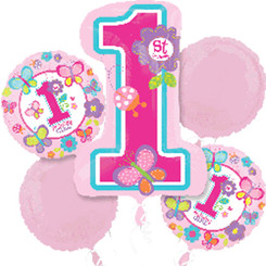 Sweet Birthday Girl (A SET of 5)