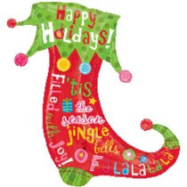 "37"" Happy Holidays Stocking"