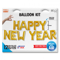 "16"" Happy New Year Kit (Air filled only CANNOT float)"