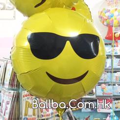 """18"""" Sunglasses Emoji Smiley"""
