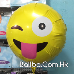 "18"" Blink Emoji Smiley"