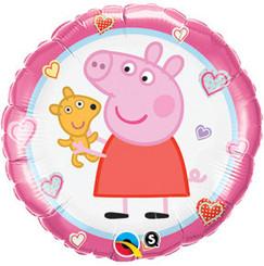 "18"" Round Peppa Pig"