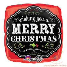 """18"""" Merry Christmas Chalkboard"""