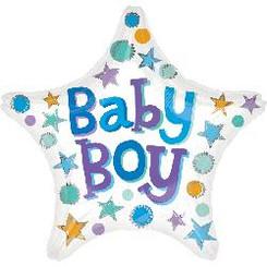 "18"" Baby Boy Star"