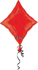 "18"" Casino Red Diamond Balloon"