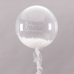 "24"" Feather Crystal Balloon"