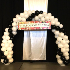Balloon Arch for Melbourne Cup 2016 @ HKFC