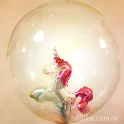 "24"" Unicorn Crystal Balloon"