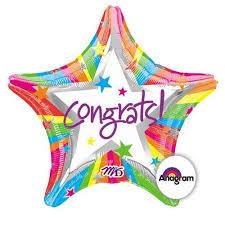 "18"" Congrats Star!"