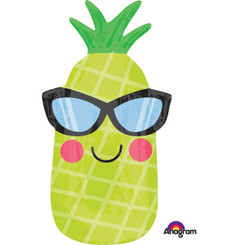 "26"" Pineapple Smile with Sunglasses"