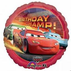 "18"" Cars Birthday Champ"