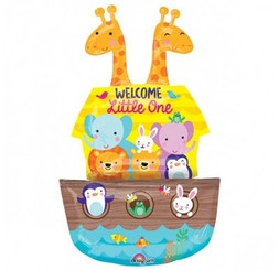 "43"" Multi-Balloon Baby Noah's Ark"