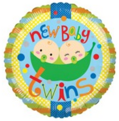 "18"" Baby Twins 2 Peas"