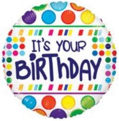 """18"""" It's Your Birthday"""