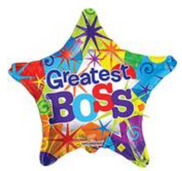 "18"" Greatest Boss Star"