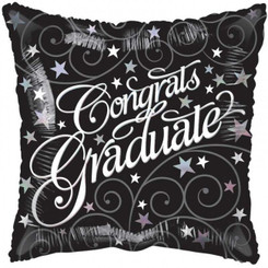 "18"" Graduate Elegant Balloon"