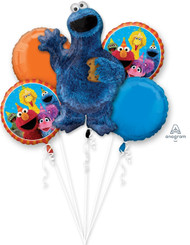 Cookie Monster Bouquet (A SET OF 5)