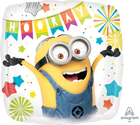 "18"" Despicable Me Party (2-sided)"