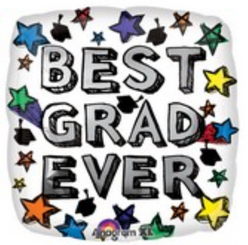 "18"" Best Grad Ever"