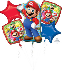 Mario Bros. Bouquet (A SET OF 5)