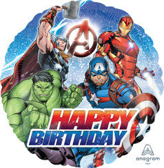 "18"" Avengers Happy Birthday"