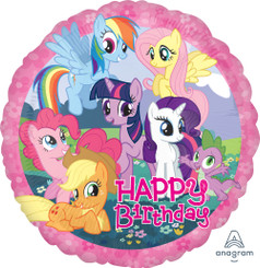 "18"" My Little Pony Birthday"