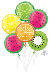 Tropical Fruit Bouquet (6 balloons)