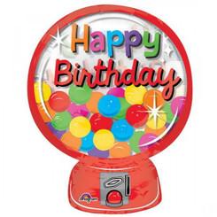"""26"""" Gumball Machine See Thru Clear Balloon"""
