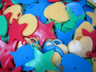 Balloon Weight - Shapes & Colors available