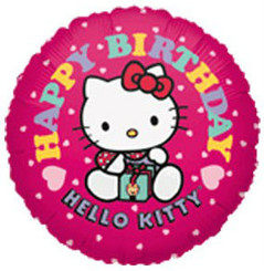 Hello Kitty Happy Birthday